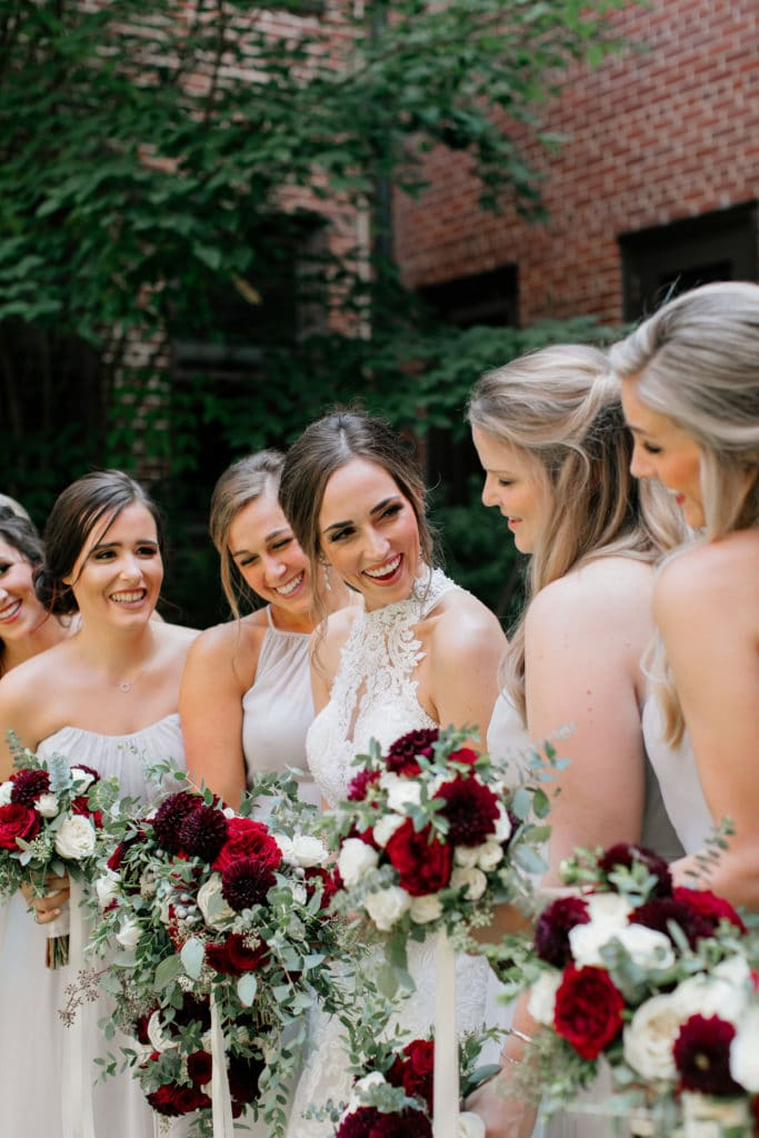 Floral Design Services, Atlanta - Bridesmaids Bouquets