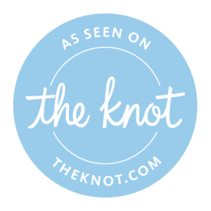 Badge: The Perfect Posey Wedding Florist, as seen on theknot.com