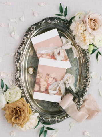 Ribbons - Swan House Wedding at Atlanta History Center. Flowers by The Perfect Posey. Sarah Sunstrom Photography