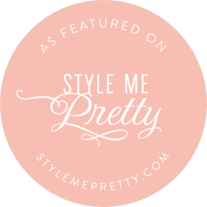 Badge: The Perfect Posey Florist featured in Style Me Pretty