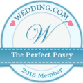 The Perfect Posey is a Wedding.com recognized member 2015