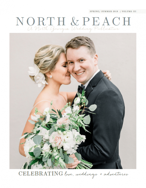 Kelly Hillis, Wedding Florist at The Perfect Posey was featured in the excellent North and Peach Magazine